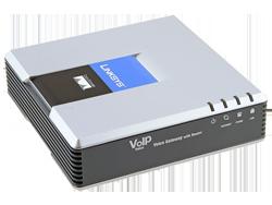 VoIP шлюз Linksys SPA3102